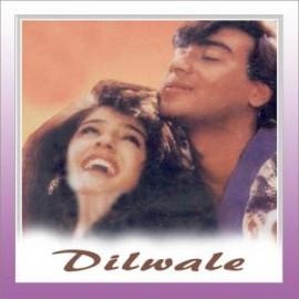 Saton Janam Mai Tere  - Dilwale - Alka Yagnik, Kumar Shanu - 1994