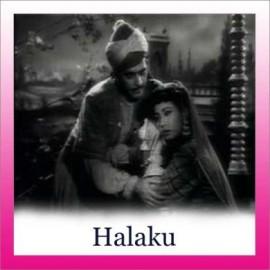 Ye Chand Ye Sitare - Halaku - Lata Mangeshkar - 1956