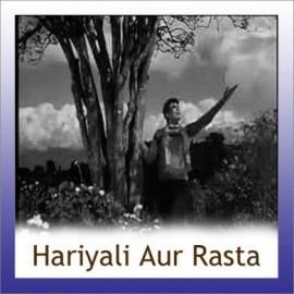 Lakhon Tere Aasman Mein - Hariyali Aur Rasta - Lata Mangeshkar . Mukesh - 1962