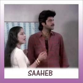 YAAR BINA CHAIN KAHA RE - Saheb - Bappi Lahiri, Asha Bhosle - 1985