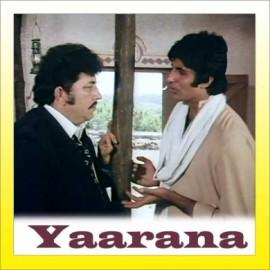 Tere Jaisa Yaar Kaha - Yaarana - Kishore. Rafi - 1981