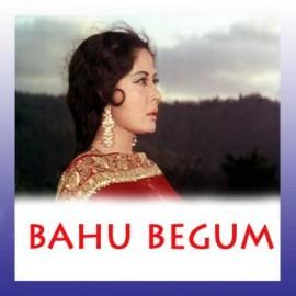 Duniya Kare Sawal - Bahu Begum - Lata Mangeshkar - 1967