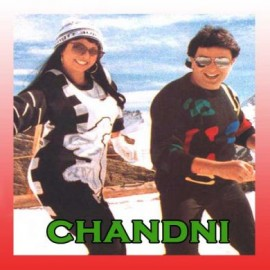 Tere Dil Mein Main - Chandni - Lata Mangeshkar - 1989