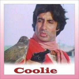 Mujhe Peene Ka Shauk Nahi  - Coolie -  Alka Yagnik , Shabbir Kumar - 1983