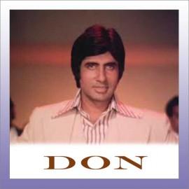 ARRE DEEWANO MUJHE PEHCHANO - Don (Old) - Kishore Kumar - 1978