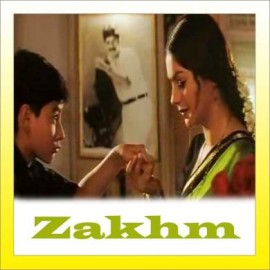 Gali Mein Aa Chaand Nikla - Zakhm - Alka Yagnik - 1998