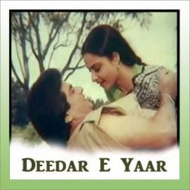 Mere Dildar Ka - Deedar E Yaar - Kishore. Rafi - 1982