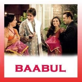 MITRAN DE NAAL BHANGRA PALE - Baabul - Amitabh Bachchan, Sonu Nigam, Vishal, Aadesh Shrivastava, Ranjit Barot   - 2006