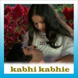 Tere Chehre Se Nazar - Kabhi Kabhi - Lata Mangeshkar-Kishore Kumar - 1976